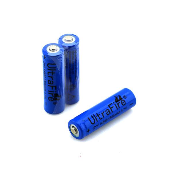 باتری 14500 لیتیوم یون 1500 میلی آمپر 3.7 ولت