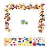 بسته ساختنی سازه های WeeCare (20 مدل-111 قطعه)