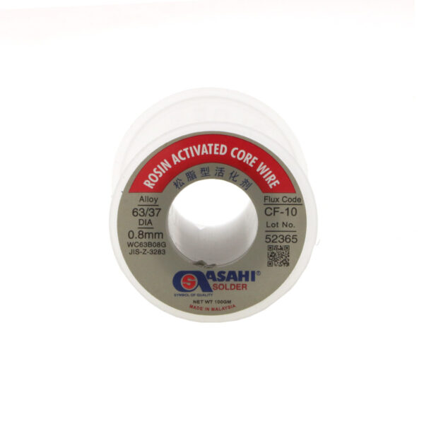 سیم لحیم Asahi 100گرم 0.8mm