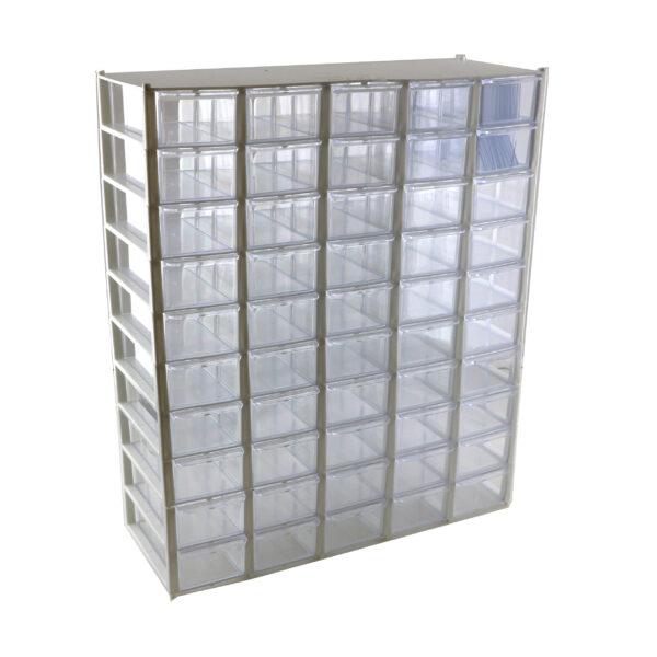 جعبه قطعات 50 کشو 10×5