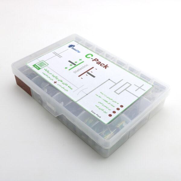 بسته خازن های عدسی و الکترولیت Cap-Com خازن های پرکاربرد در رباتیک C-Pack