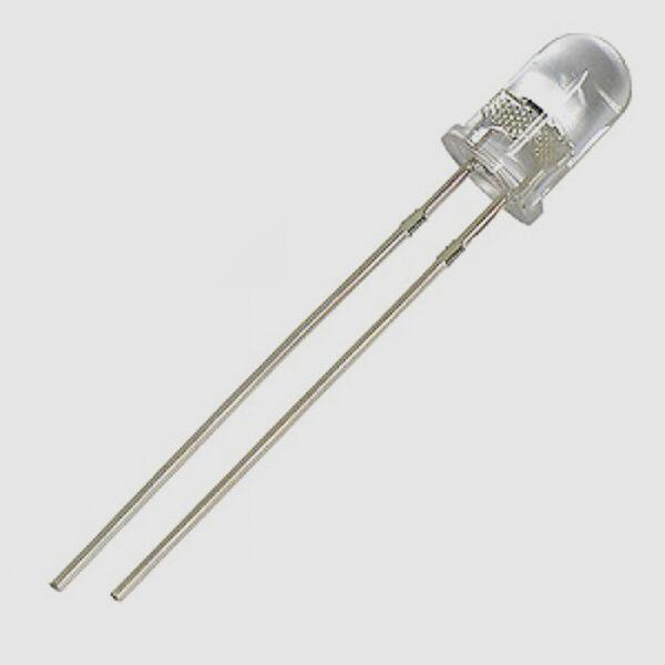 LED آبی شفاف 5mm