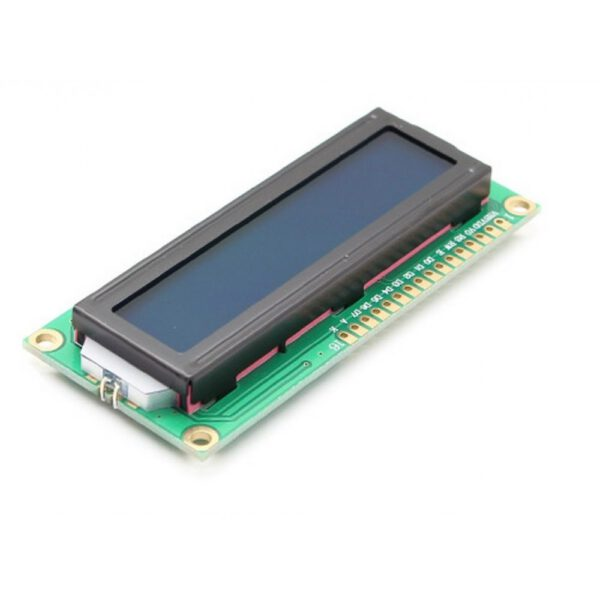 LCD کاراکتری 2×16 آبی نمایشگر کاراکتری معادل lm016