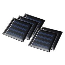 سلول خورشیدی مستطیلی ۲ولت ۵۰ میلی آمپر