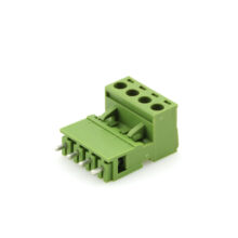 بلوک ترمینال دو طرفه صاف 4 پین فونیکس یا Phoenix Pluggable Terminal Block ترمینال بلوکی چند شاخه