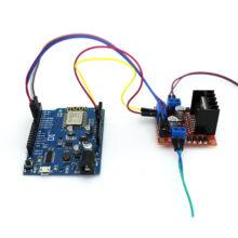 ماژول کنترل بی سیم WiRol (پروتکل WiFi) + نرم افزار اندروید