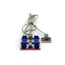 دسته کنترل ۲ موتور – اکونومی مونتاژ شده بدون کانکتور سیم دار