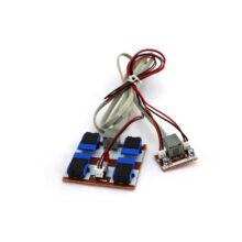دسته کنترل ۲ موتور – اکونومی مونتاژ شده با ۳ کانکتور سیم دار