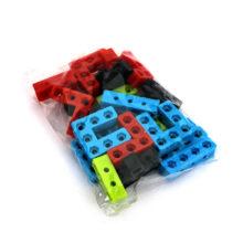 بسته اتصالات ضخیم پلاستیکی ۵ مدل ۲۴ تایی