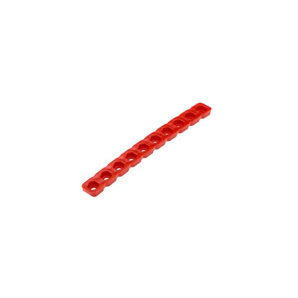 سازه پلاستیکی خشک 3 مدل 10 سوراخ سازه خطی