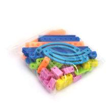بسته سازه پلاستیکی انعطاف پذیر ۱۰ مدل ۶۰ تایی