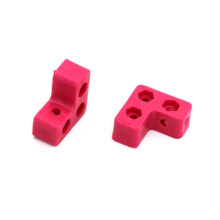 سازه پلاستیکی ۳ سوراخ با جا مهره دو طرفه
