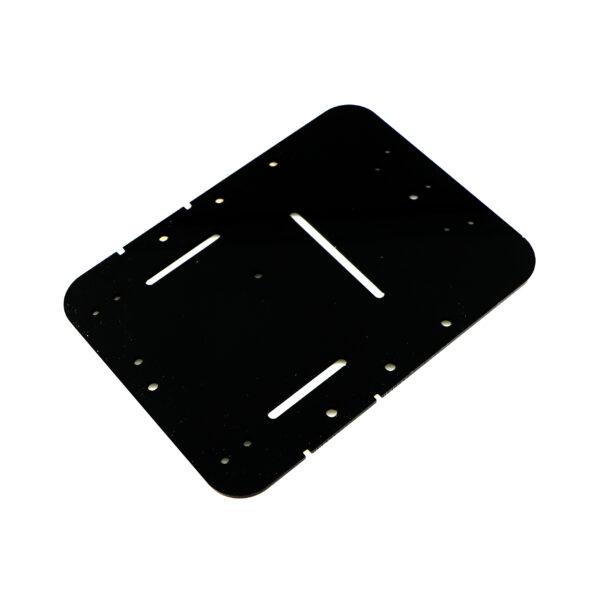 پلتفرم ساده Plexi Simple برش خورده سوراخ کاری شده جنس پلکسی گلس ربات مبدل