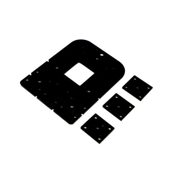 پلتفرم چهارتکه Plexi 4Slice صفحه اصلی و سه صفحه کوچک ساخت هاورکرافت مسیریاب سوراخکاری شده پلکسی 3 میل کیفیت بالا