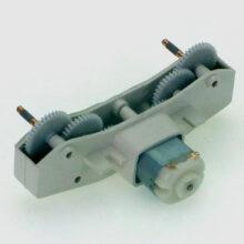 موتور گیربکس دار پلاستیکی مبتدی ۶ ولت دو شفت A