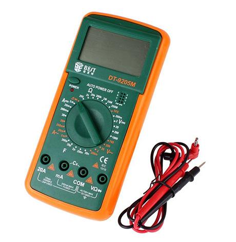 مولتی متر دیجیتال DT9205M