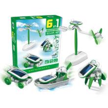 بسته سرگرمی آموزشی ربات خورشیدی ۶×۱ سگ رباتیک
