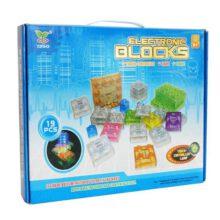 بسته سرگرمی بلوکی لگو مدل کنترل لمسی لامپ ۱۹ قطعه