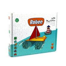 بسته ساختنی روبی مدل قایق و فانوس دریایی S101