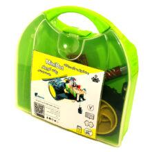 بسته آموزشی ربات کوچولو-MiniBot با لحیم کاری با باتری کتابی معمولی