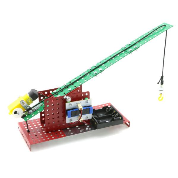 بسته ساختنی ربات جرثقیل فلزی