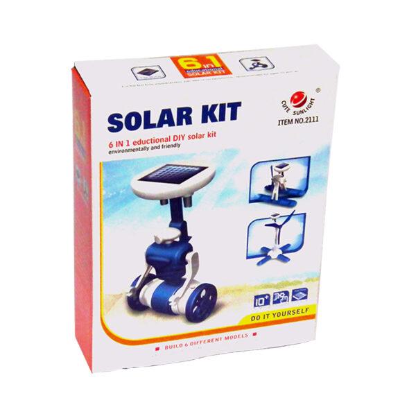 بسته سرگرمی آموزشی ربات خورشیدی 6×1 آدم فضایی