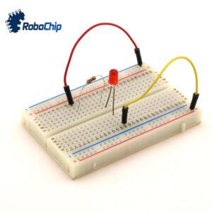 نمونه سازی مدار الکترونیک