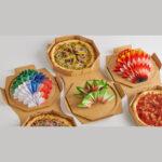 جعبه پیتزا اریگامی