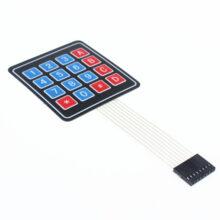 صفحه کلید ترکیبی تلفنی + A-D 0-9
