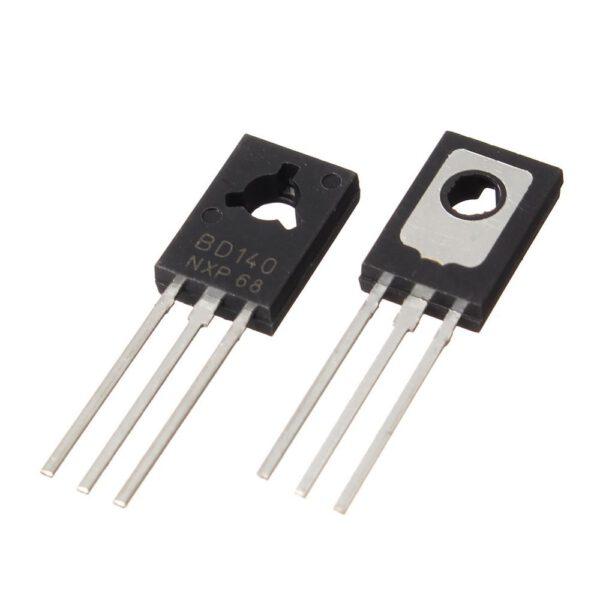 ترانزیستور BD140 PNP عمومی جریان متوسط 1-4 آمپر سری BD